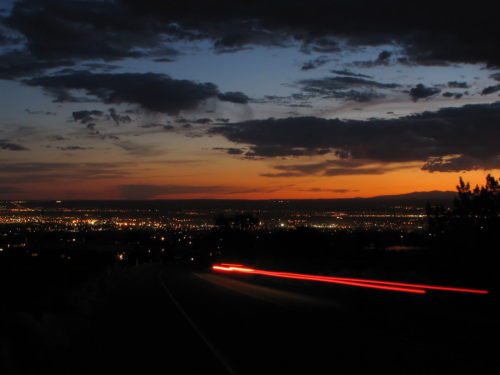 Albuquerque Sunset Fiendish Master Plan